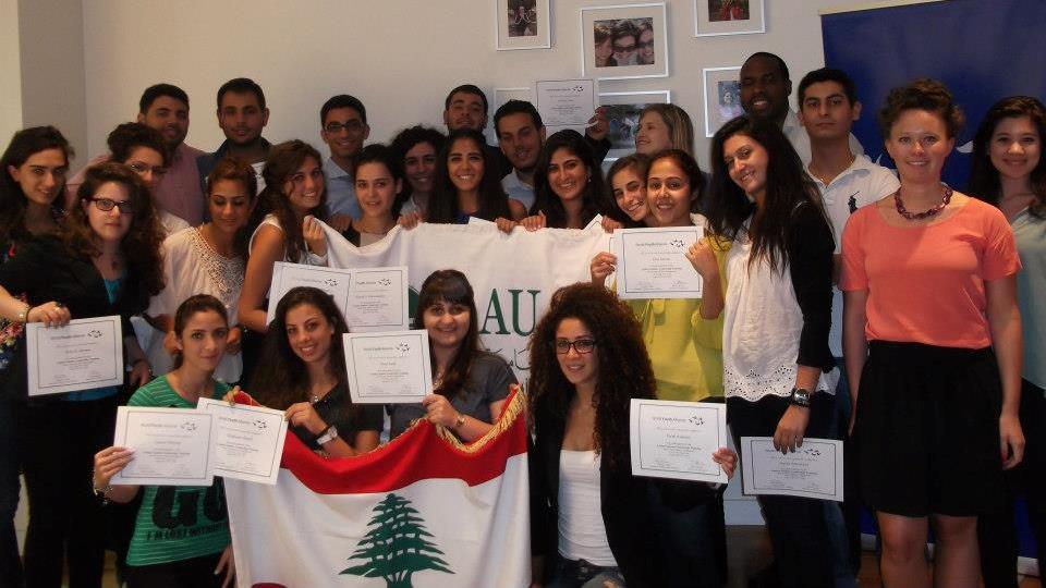 WYA Trains Lebanese Students from the LAU