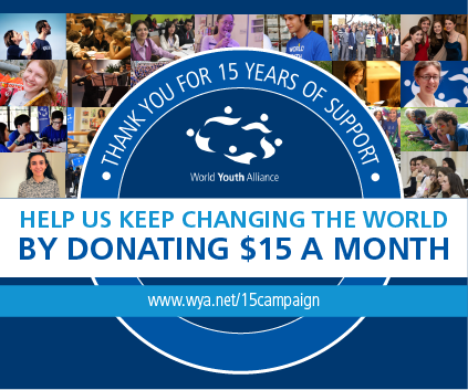 Help Us Keep Changing the World by Donating $15 a Month