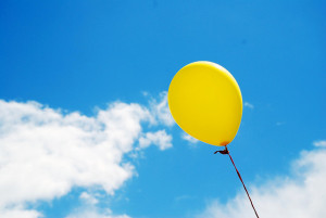 Balloon in a Summer Sky