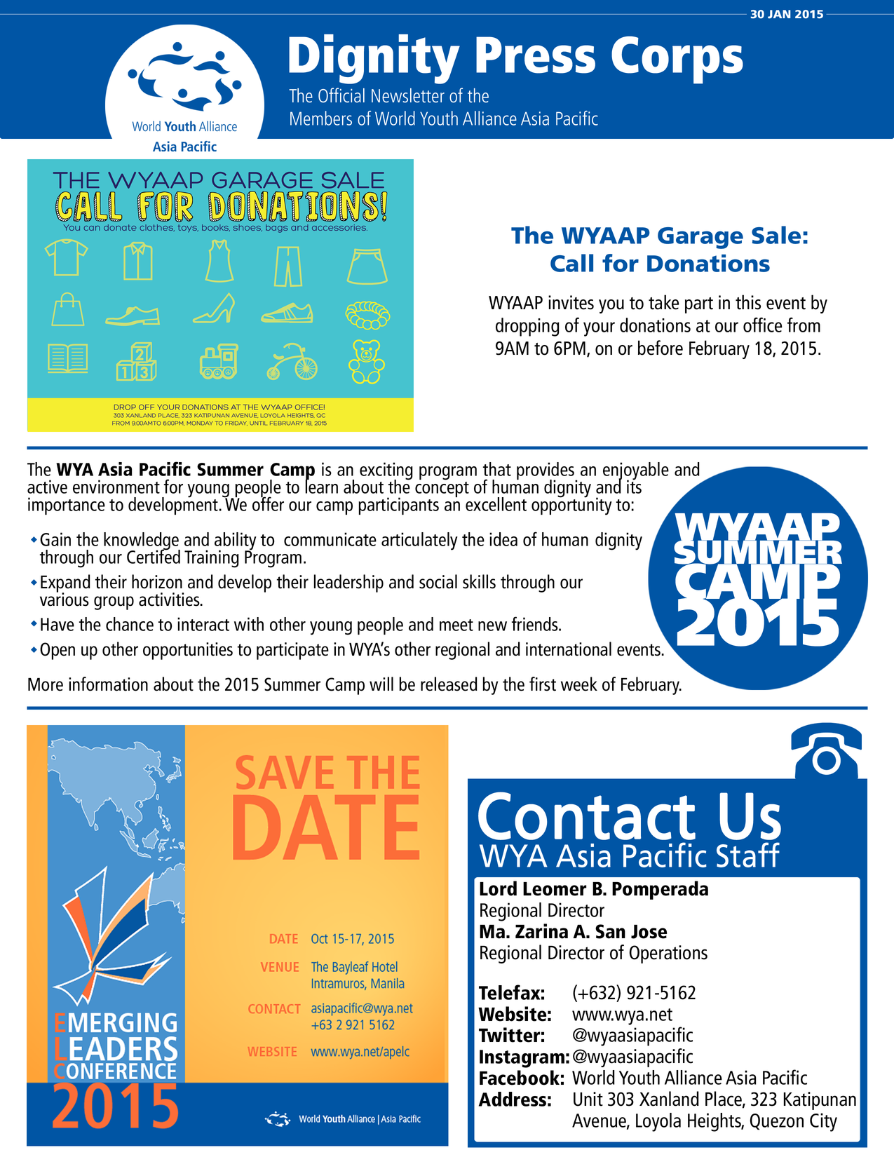 Asian pacific newsletter