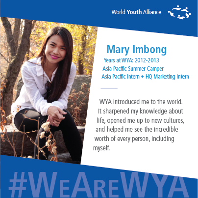 #WeAreWYA_AsiaPacific_Mary
