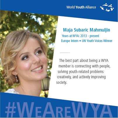 #WeAreWYA_Europe_Maja