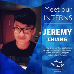 WYA Asia Pacific Intern - 2015 Jeremy
