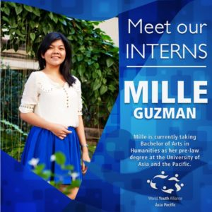 WYA Asia Pacific Intern - 2015 Mille