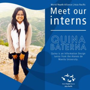 WYA Asia Pacific Intern - 2015 Quina