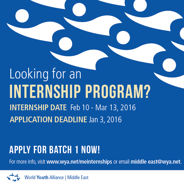 WYA Middle East Internship 2016 batch 1 _socialmedia