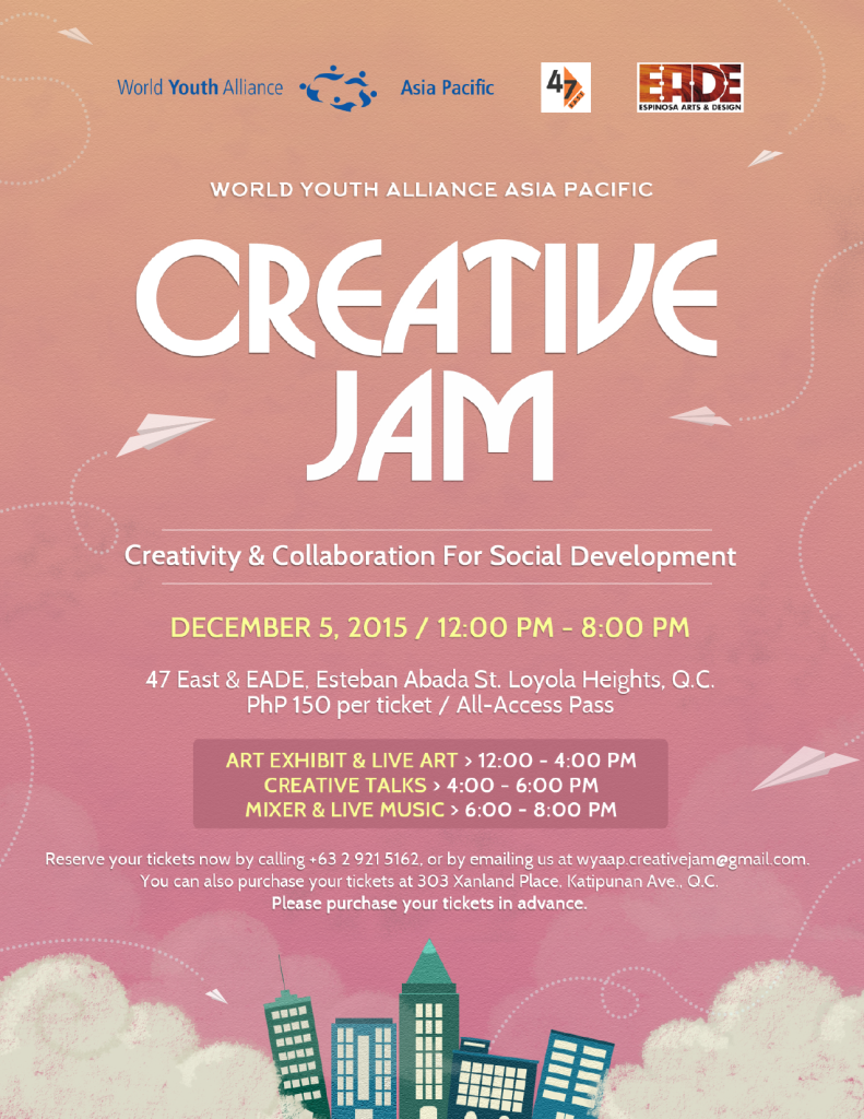 WYAAP Creative Jam_MAIN POSTER