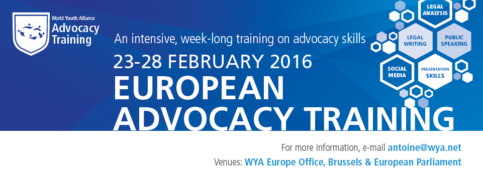 European Advocacy Training 2016