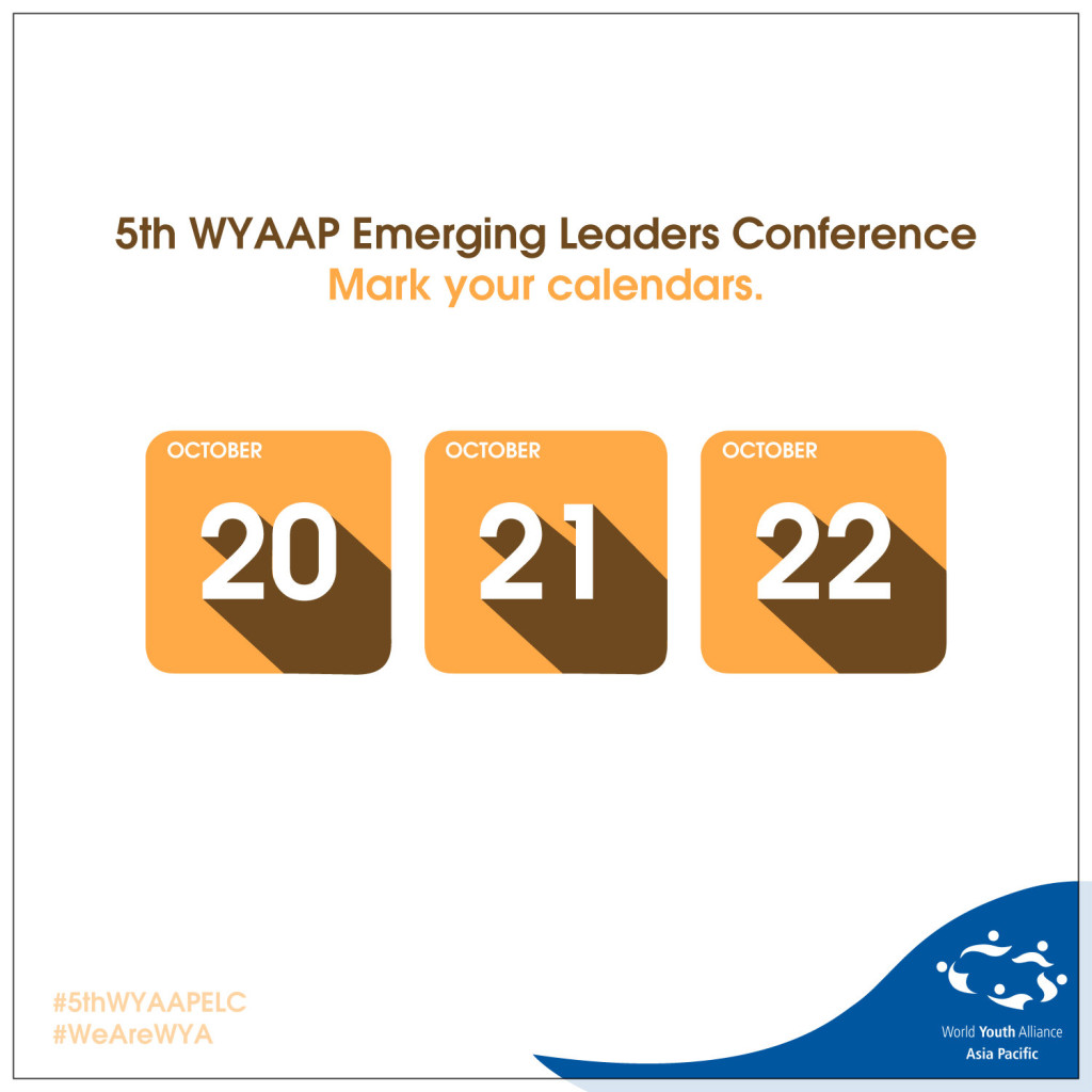 5th WYAAP ELC_Save The Date