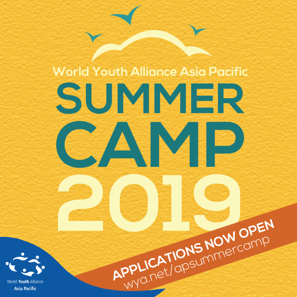 World Youth Alliance | APPLICATIONS OPEN: Summer Camp 2019